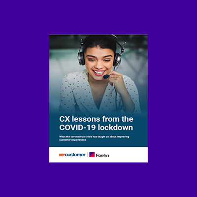 Guide to CX lessons learnt from the COVID-19 lockdown