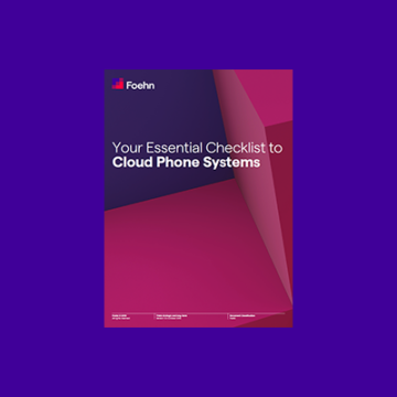 Essential Checklist to Cloud Phone Systems