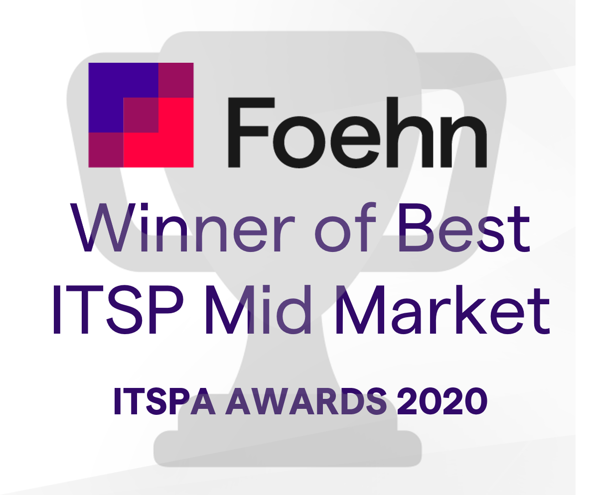 Blog: Foehn singled out for excellence in ITSPA awards