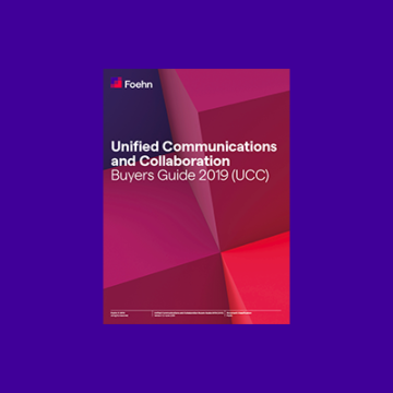 Unified Communications and Collaboration Buyers Guide 2019