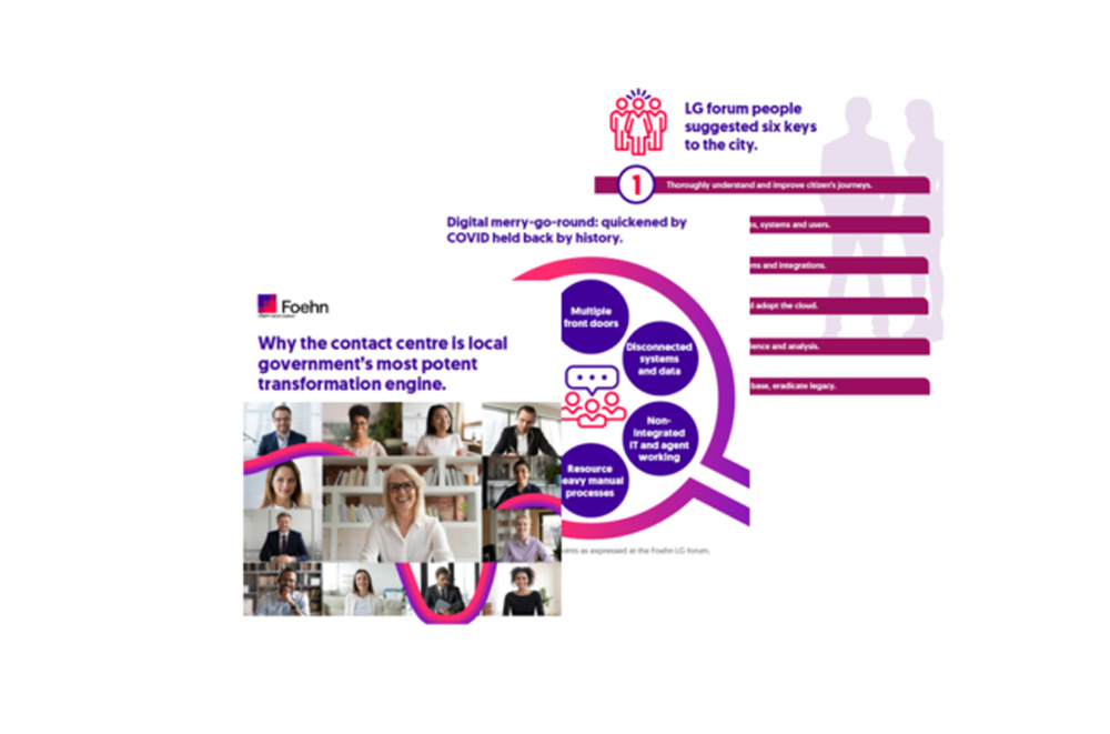 Infographic: Why the contact centre is local government's most potent transformation engine.